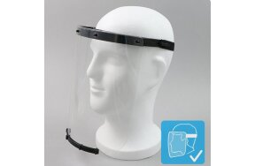 FACE SHIELD BLACK